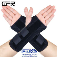CFR Medical Wrist Support Hand Brace Carpal Tunnel Splint Arthritis Sprain Pain