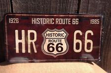 Route 66 HR Historic Wholesale Novelty License Plate Bar Wall Decor