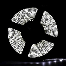 New 5M SMD 300led Cool White 5050 Non-Waterproof Strip Lights Flexible Lamp UK