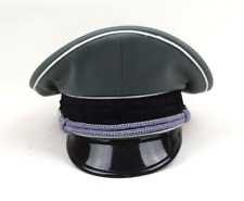 More details for ww2 replica german whipcord military elite officer hat cap new size 56-60 wwii