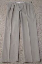 Polo Ralph Lauren Classic Fit Chino Size 40x32 Khaki Pleated