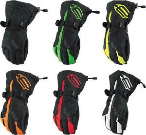 Arctiva Pivot Gloves - Snowmobile Insulated Waterproof Cold Weather Winter Mens