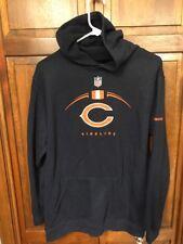Reebok Authentic Sideline Chicago Bears Hoodie Sweatshirt Youth Boys XL 18 20