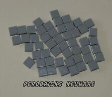Ingeniería de Lego Technic 50 X Piedras/Baldosas 1x1 Gris Claro #3070b (Nuevo)