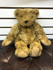 "Vermont Teddy Bear Company Plush Fully Jointed Stuffed Teddy 16"" Authentic 1994"