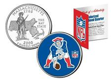 NEW ENGLAND PATRIOTS Licensed NFL Massachusetts US State Quarter Coin * RETRO *