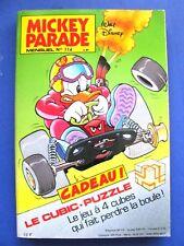 MICKEY PARADE  Mensuel N°114 1989 +supplément puzzle