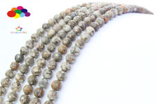 Diy 4/6/8/10/12mm Natural Stone MAIFANITUM Round Beads fit bracelet necklace