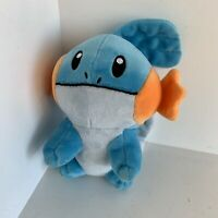 Official Pokemon Centre Mudkip Plush 7 Inch Soft Toy Rare Collectable Japan 2007