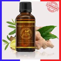 Huile Essentielle de Gingembre de Massage 100% Naturel et biologique