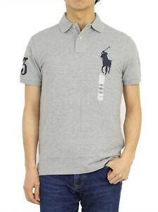 Polo Ralph Lauren Custom Slim Fit Solid Big Pony Short Sleeve Polo Shirt 9 types