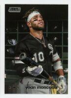 2020 Topps Stadium Club #63 YOAN MONCADA Chicago White Sox PHOTO BASEBALL CARD