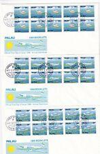 Palau 278-80 FDC H-BLATT FLUGZEUG AIRPLANE CESSNA MICRONESIA BOOKLET PANE