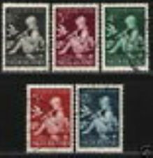 Nederland Netherlands 313-317 Kinderzegels   1938 gestempeld-used