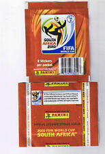 Panini 2010 World Cup Soccer Sticker Pack w/ 8 Stickers
