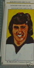 hugh mcauley tranmere rovers soccer Collector card #856