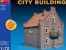 MiniArt Diorama Stadthaus Buildung Drei Stockwerke 1:72 Haus Modell-Bausatz kit