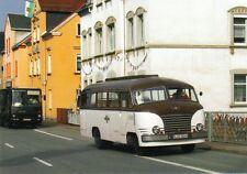 Ansichtskarte: Omnibus IFA H3B (Maikäfer), DDR-Oldtimer