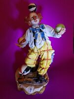 Capodimonte Fabulous Clown with Ball