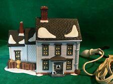 1989 Dept 56 New England Village Series Jannes Mullet Amish Farmhouse