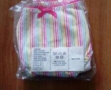 avon summer stripe short briefs size 6/8 new in pack