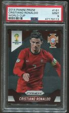 2014 Prizm World Cup Cristiano Ronaldo Rc #161 PSA 9