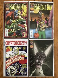 Cryptozoic Man by Johnson/Flanigan AMC Comic Book Men 1 2 3 4 Jet Pack Variants