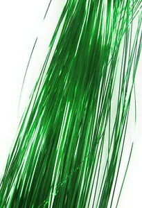"""300S 28"""" silk hair tinsel for human / Feather salon extensions 19 color choose"""