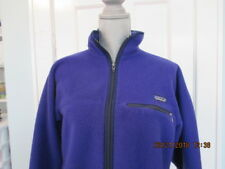 Patagonia Blue Full Zip Fleece Jacket Mens Medium