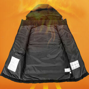 Gear Heating Vest Supply Jacket Intelligent Hooded Camping Accessories