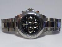 Invicta Men's Professional Speedway 9223 Black & Steel Watch 39.5mm Case