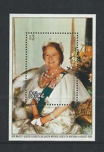 1980 Queen Mother Minisheet  Complete MUH/MNH as Issued