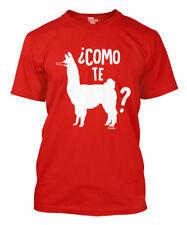 Como Te Llama -Cinco de Mayo Mexico Party Drink Margarita Mustache Mens T-Shirt