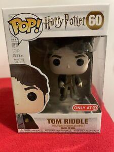 Tom Riddle Funko Pop Harry Potter #60 Damaged box Target Exclusive