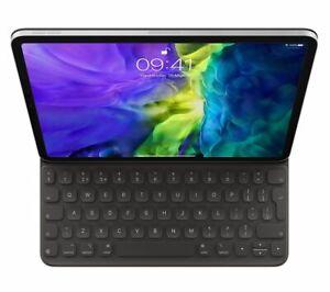 """APPLE 12.9"""" iPad PRO (4TH GEN) SMART KEYBOARD FOLIO CASE MXNL2B/A BLACK"""