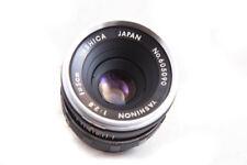 Yashica/Yashinon 5cm F2.8 Early Preset Lens