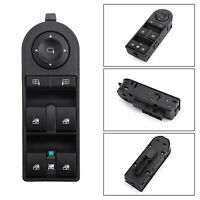 Master Control Window Switch 1322887713215153 For Vauxhall Opel Astra H Zafira