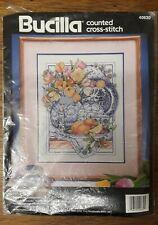 Bucilla Craft Counted Bead Embroidery Kits Wall Hanging Close At Heart 46469