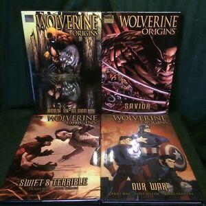 MARVEL: Wolverine Origins #1 / #2 / #3 / #4 (Premiere Edition / HC Hardcover)