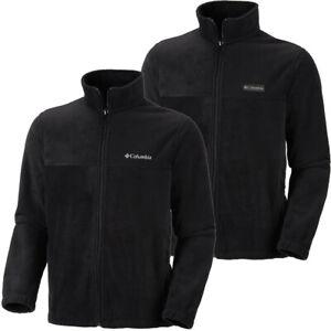 """New Mens Columbia """"Steens Mountain 2.0"""" Full Zip Fleece Sweaters Jacket"""