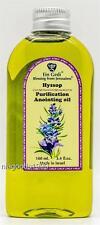 Purification Hyssop Anointing oil Jerusalem Biblical Holy Land 100ml 3.4oz