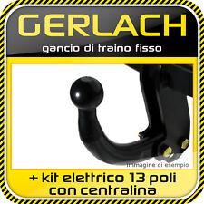 Fiat Stilo 3/5 porte 2001-2007 gancio traino fisso + kit elettrico 13 poli