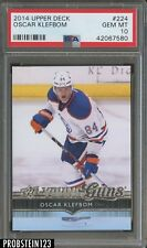 2014 Upper Deck Young Guns #224 Oscar Klefbom PSA 10