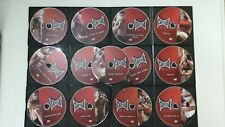 TapOut Xt Extreme Training 13 Dvd Set Fitness Training Mma at Home Bonus 12 Dvds