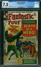 Fantastic Four #32 CGC 7.5 -- 1964 -- Death of Dr. Franklin Storm #1285152011