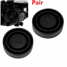 2Pcs Universal LED HID Seal Cap Dust Cover for Car Headlight Lamp Kit