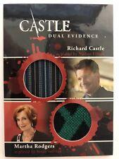 CASTLE Seasons 1 & 2 Cryptozoic : Dual Richard Castle Martha Rodgers DM06