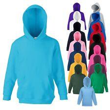Fruit of the Loom - Kinder Hooded Sweater - Kids Hoodie - 16 Farben