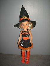 Trés belle Poupée Nancy Famosa Sorcière Halloween (h:43cm)