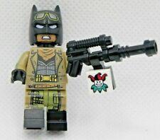 Authentic LEGO DC Super Heroes 853744 Knightmare Batman Minifigure with Gun
